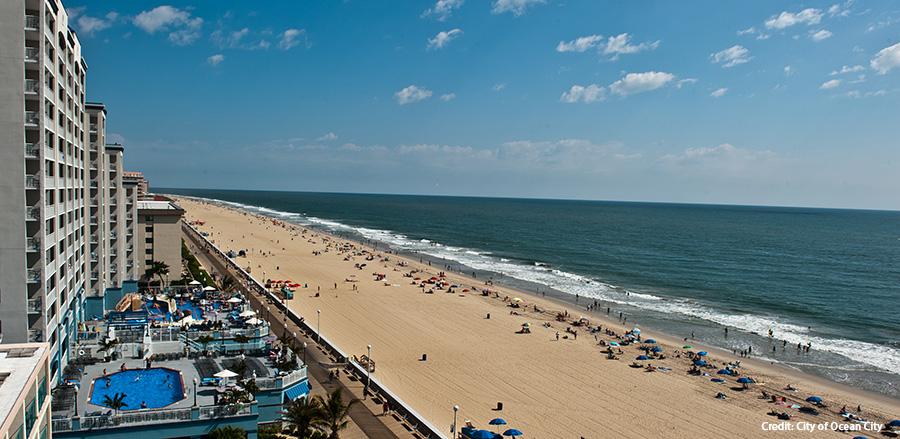 Beach Photo Credit City of Ocean City