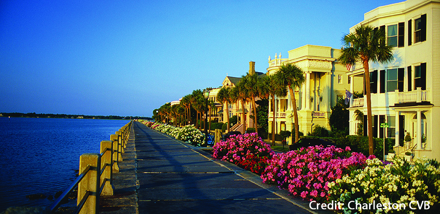 The Battery Credit Charleston CVB