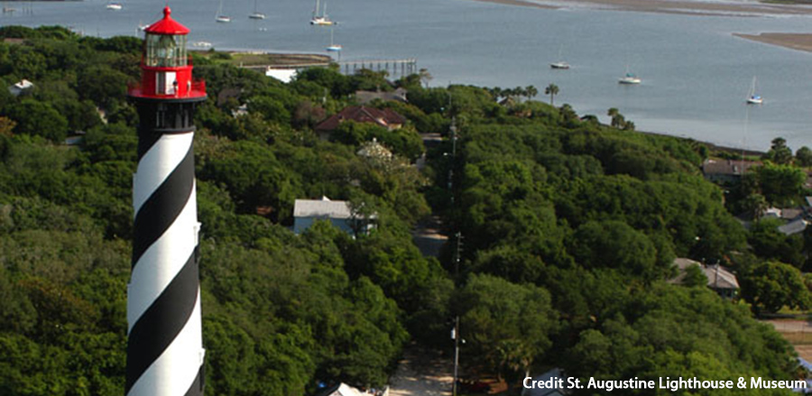 Lighthouse Scenery Credit St. Augustine Lighthouse & Museum