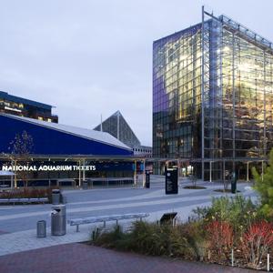 Baltimore National Aquarium Exterior