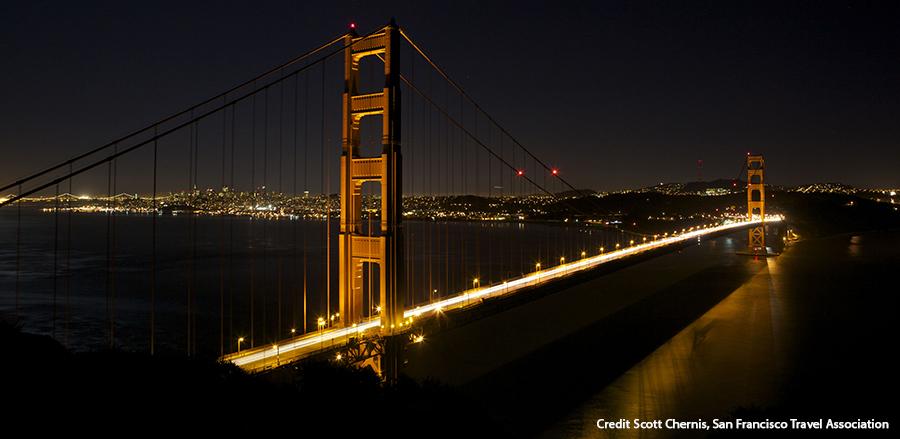 Golden Gate Bridge Credit San Francisco Travel Association-Scott Chernis