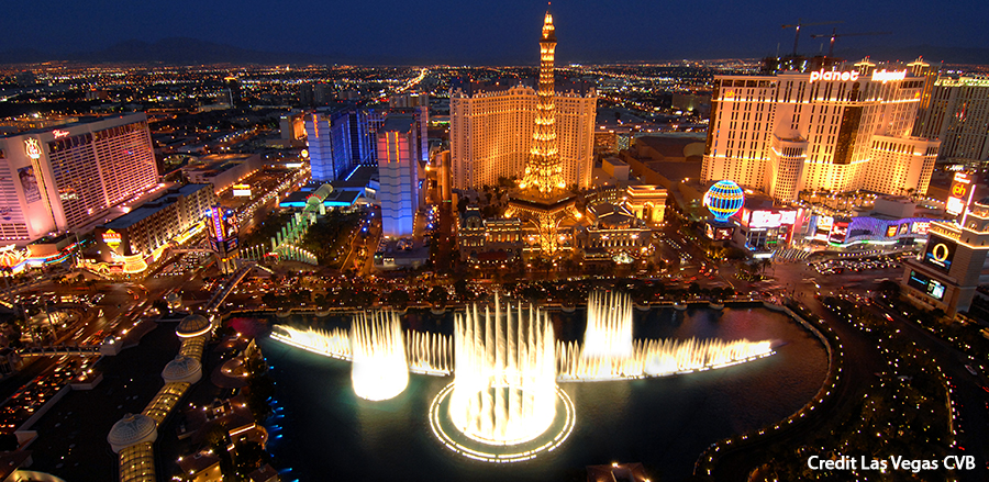 Las Vegas Strip Credit Las Vegas CVB