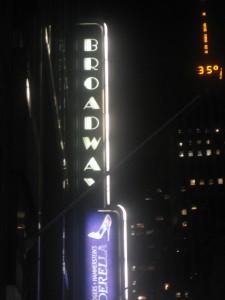 New York Broadway Play