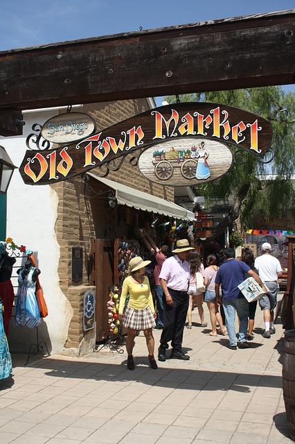 Old Town Market San Diego Pixabay Public Domain