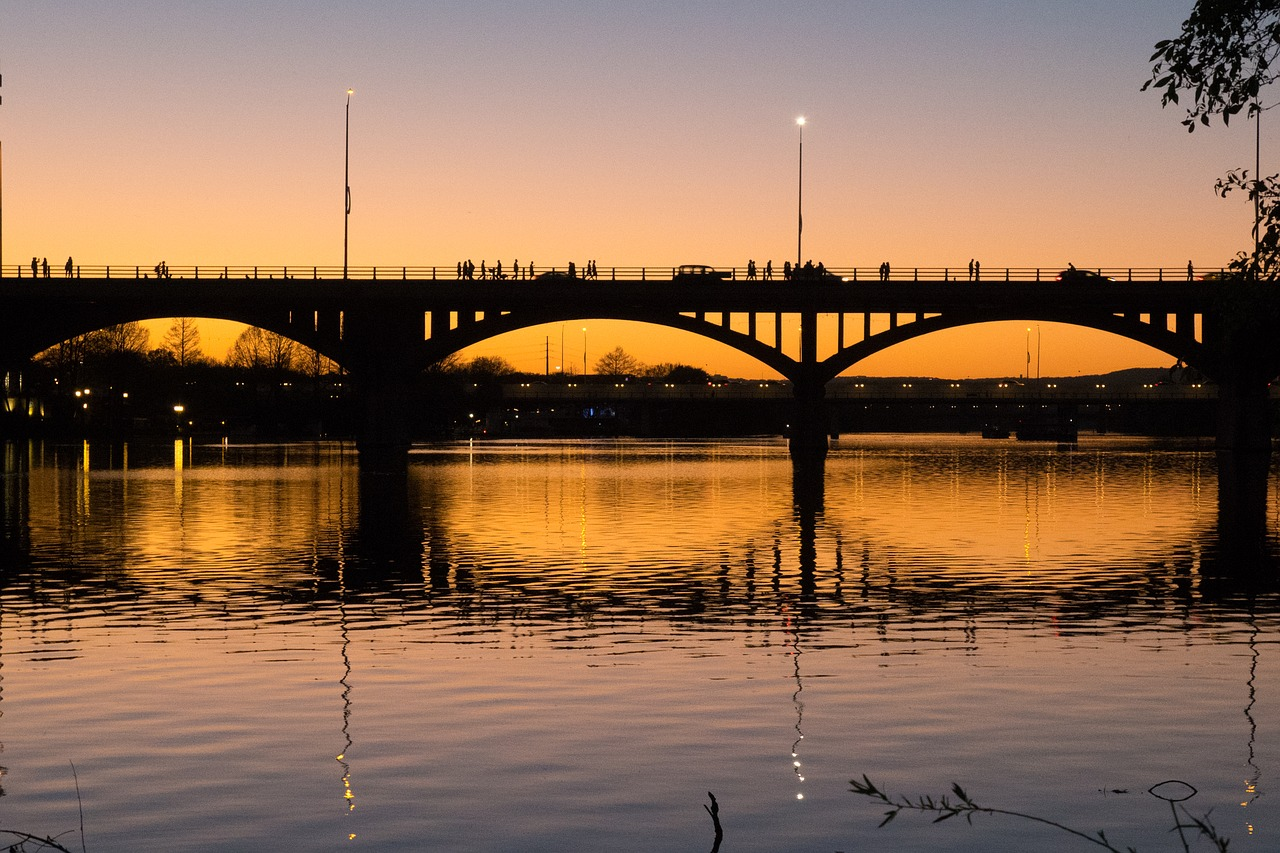 Austin Bat Bridge Pixabay Public Domain