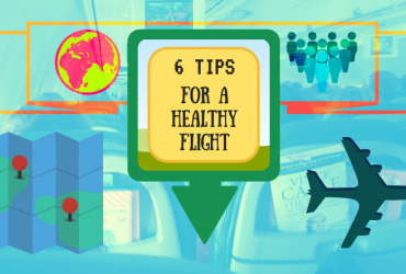 6 Tips for a Healthy Flight