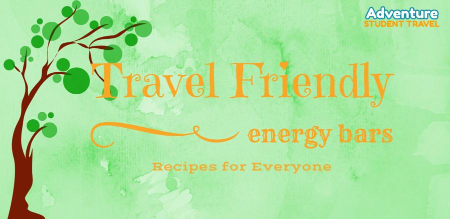 Travel Friendly Energy Bar Recipes