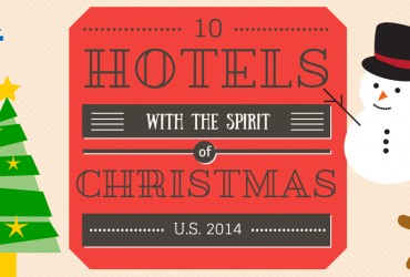 10 Hotels with the Spirit of Christmas