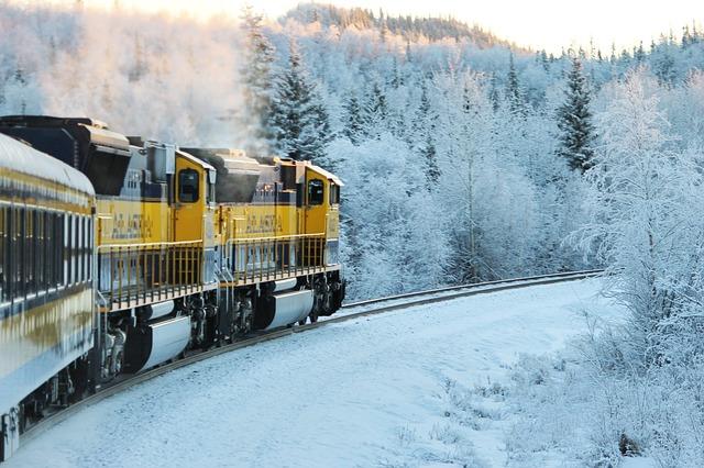 Alaska Railroad Pixabay Public Domain