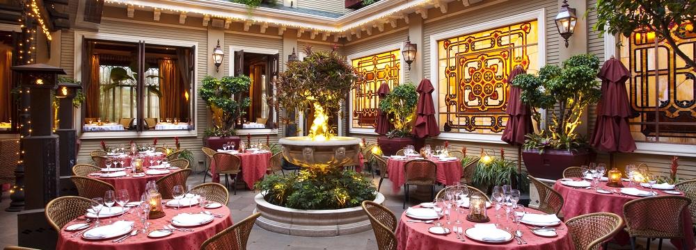 Restaurant Patio Hotel Grano De Oro San Jose Costa Rica