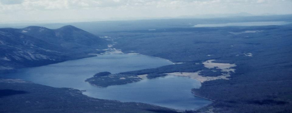 Aerial of Heart Lake R Robinson 1958