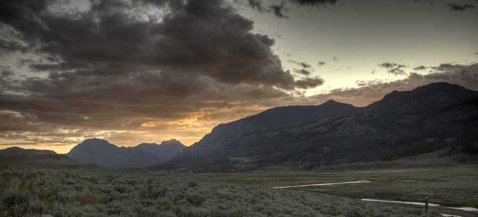 Lamar Valley at Sunrise