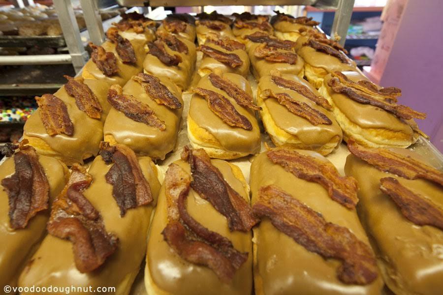 Maple Bacon Bar Credit Voodoo Doughnut