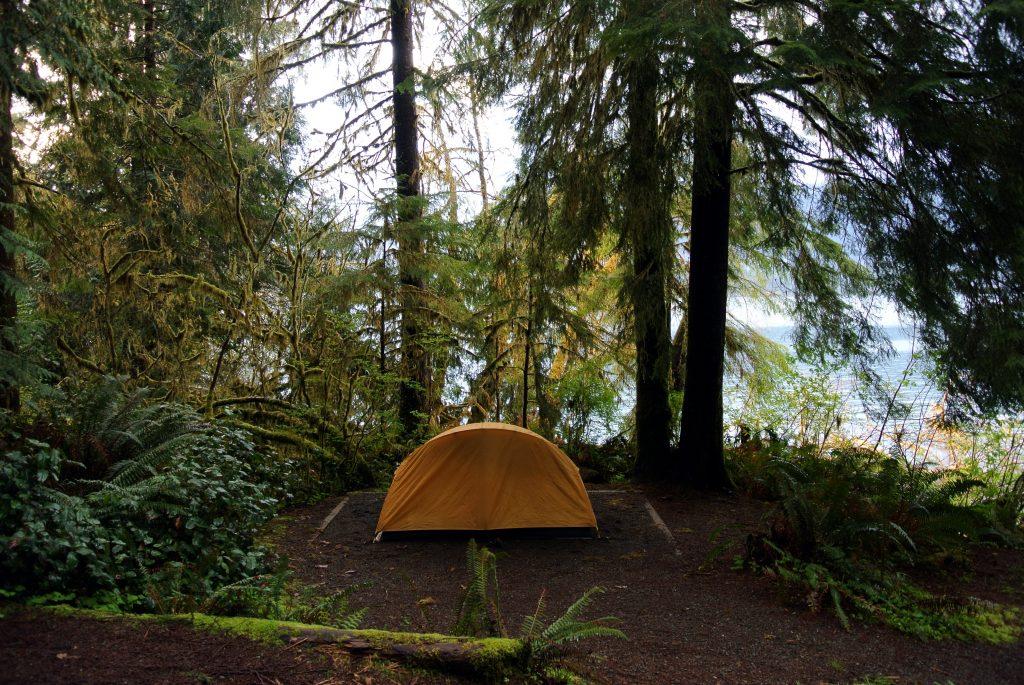 Camping_site_Lake_Quinault