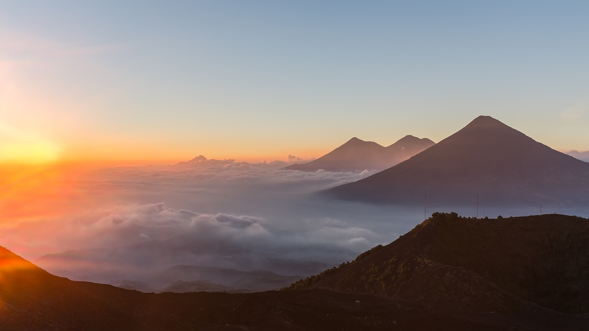 For the easy hike it requires, Volcano Pacaya, Guatemala, offers more than a rewarding view over volcanoes Acatenango and Agua.