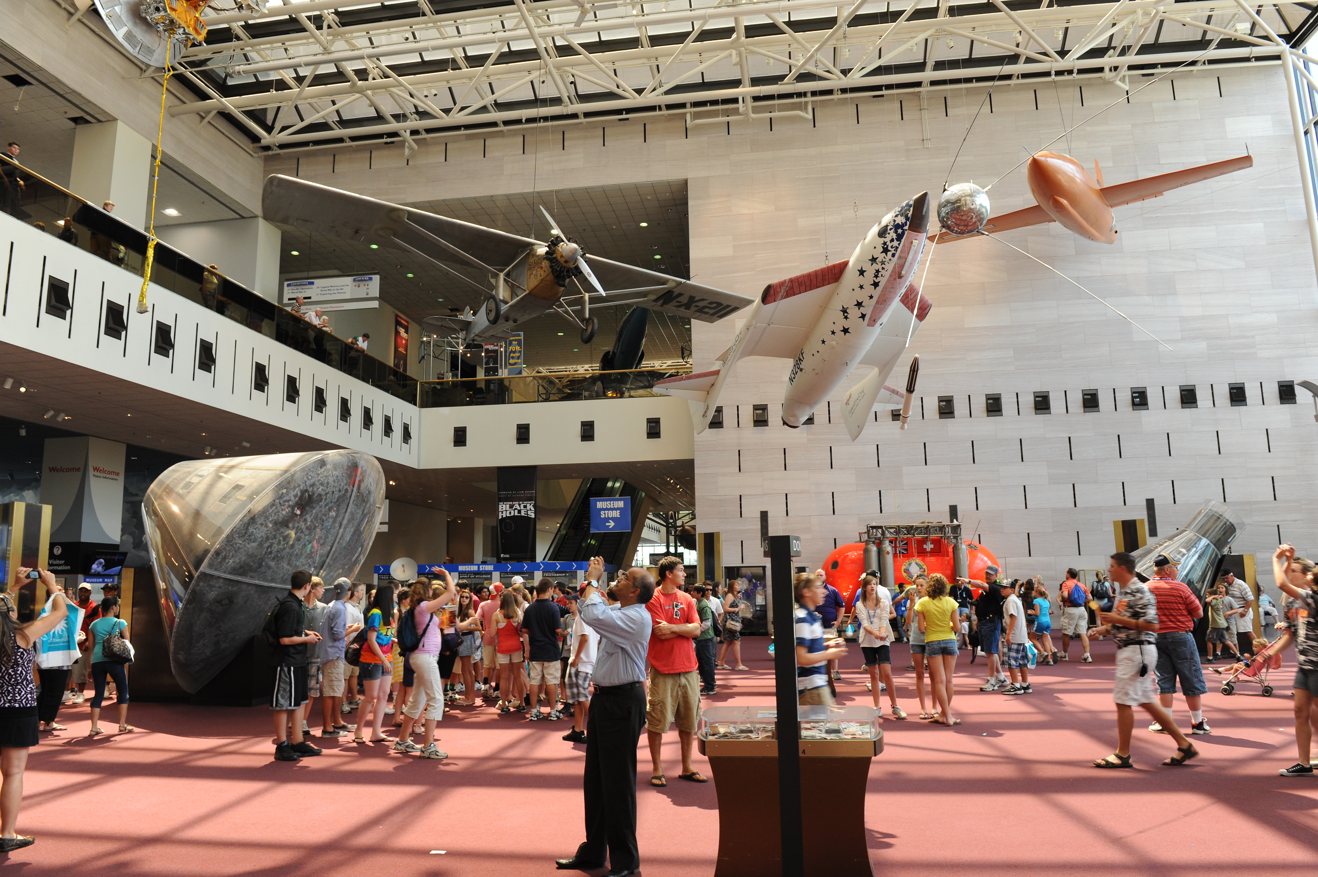 National Air and Space Group Trip
