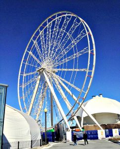 Navy Pier Ferris Wheel Under Construction 2016 GT Staff