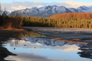 Goose Lake, Chugach Mountains, Alaska photo by Frank Kovalchek
