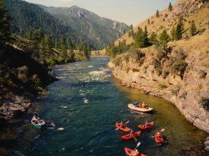 Salmon River, Idaho photo by: Fredlyfish4