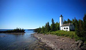 Rock Harbor Lighthouse, Isle Royal National Park photo by: Ray Dumas
