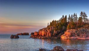 Morning on Silver Bay, Minnesota photo by: Flickr/Randen Pederson