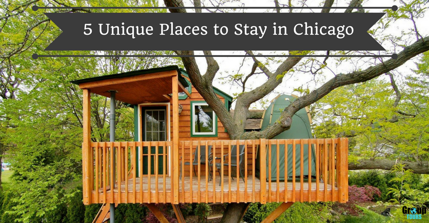 5 unique places to stay in chicago group tours for Where to stay in chicago