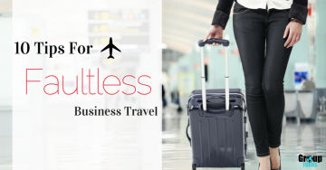 10 Tips for Faultless Business Travel