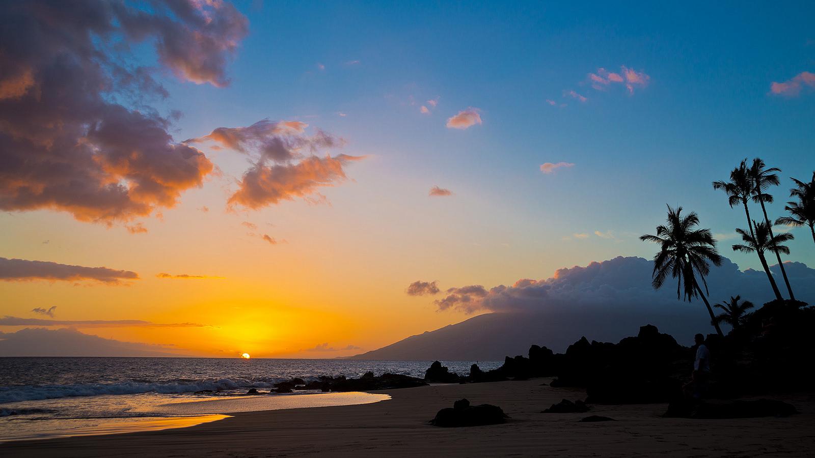 Maui Sunset, Ruediger Gros