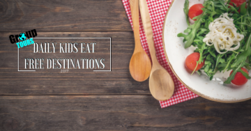 Daily Kids Eat Free Destinations