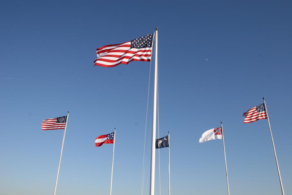 5 Flags Fort Sumter Chris Brown Flickr