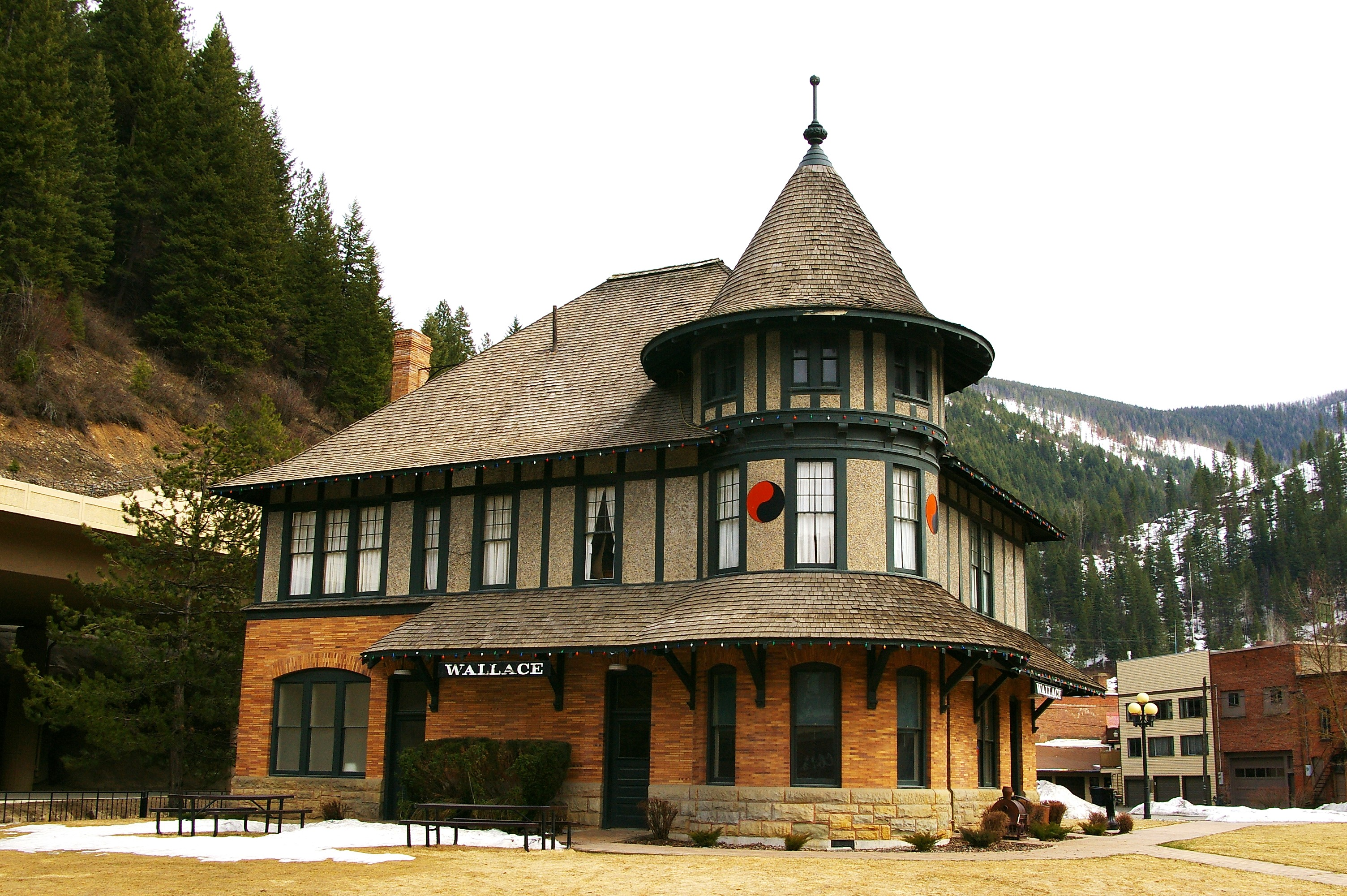 Wallace, ID train station Author Ron Reiring
