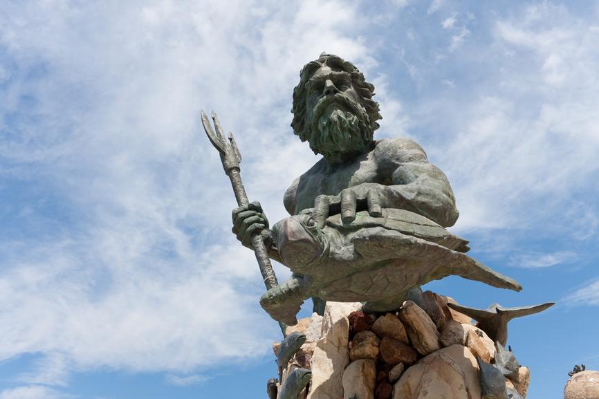 King Neptune Pixabay Public Domain