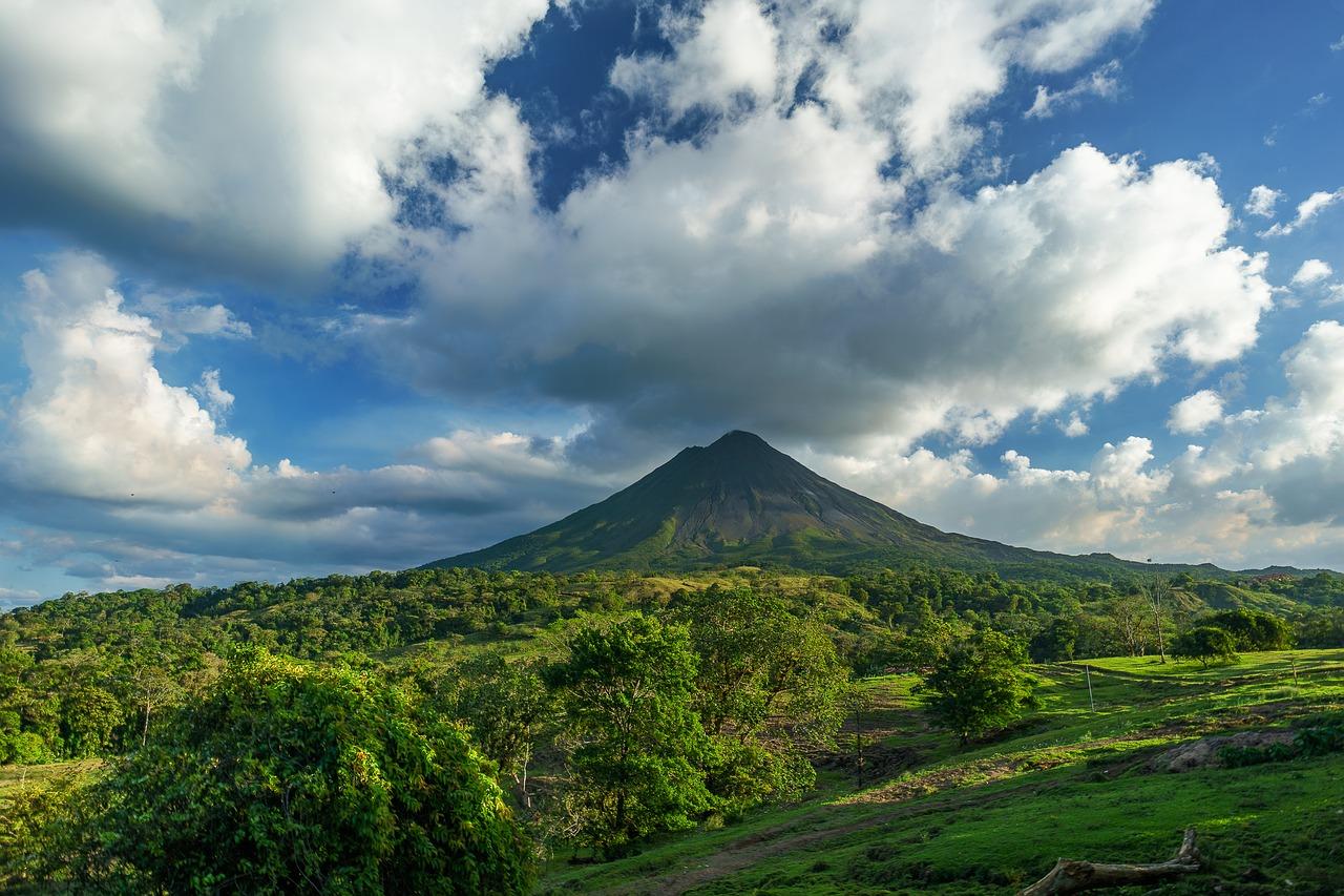 Arenal Volcano Costa Rica Pixabay Public Domain