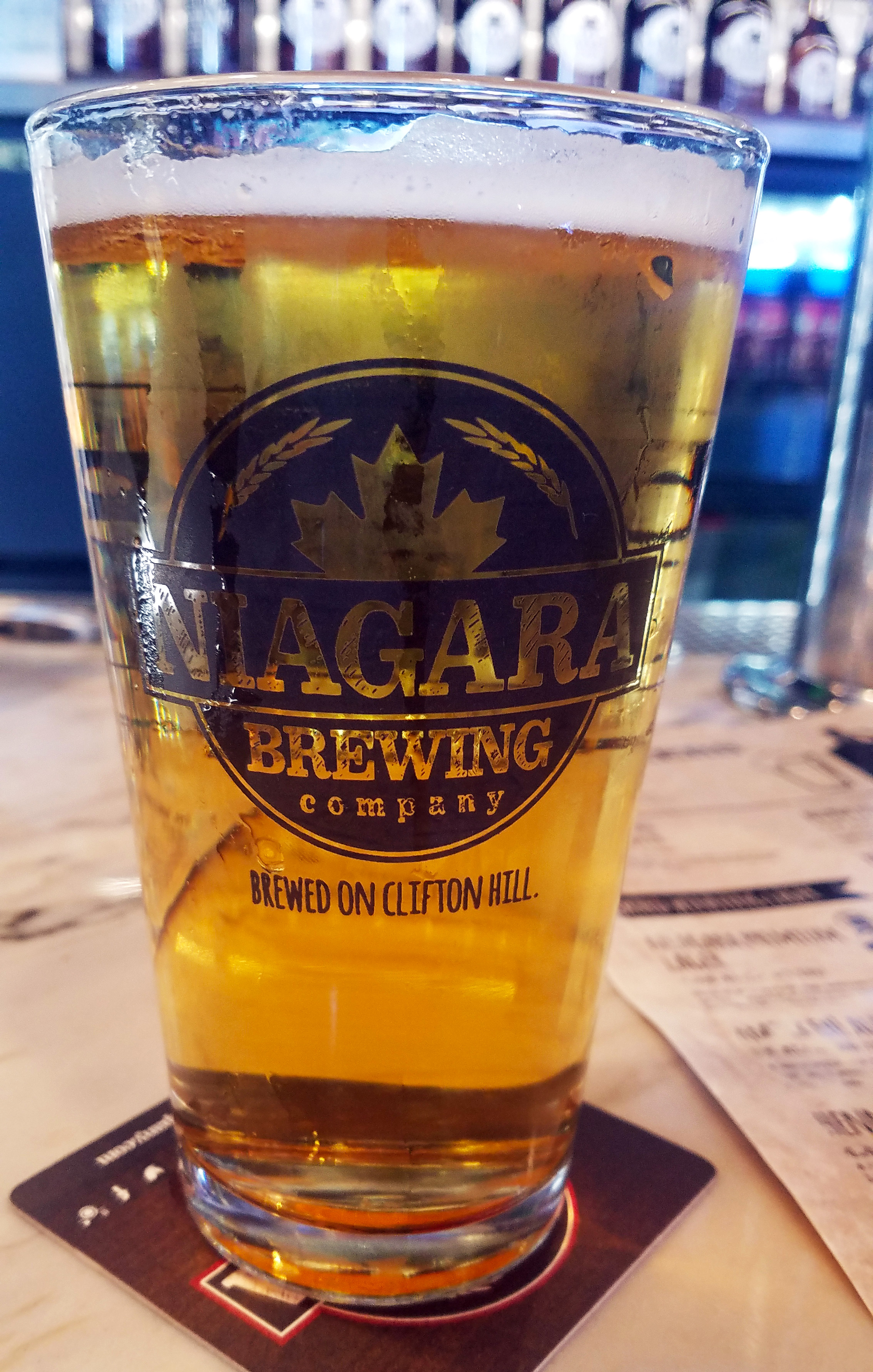 Local Brews at Niagara Brewery