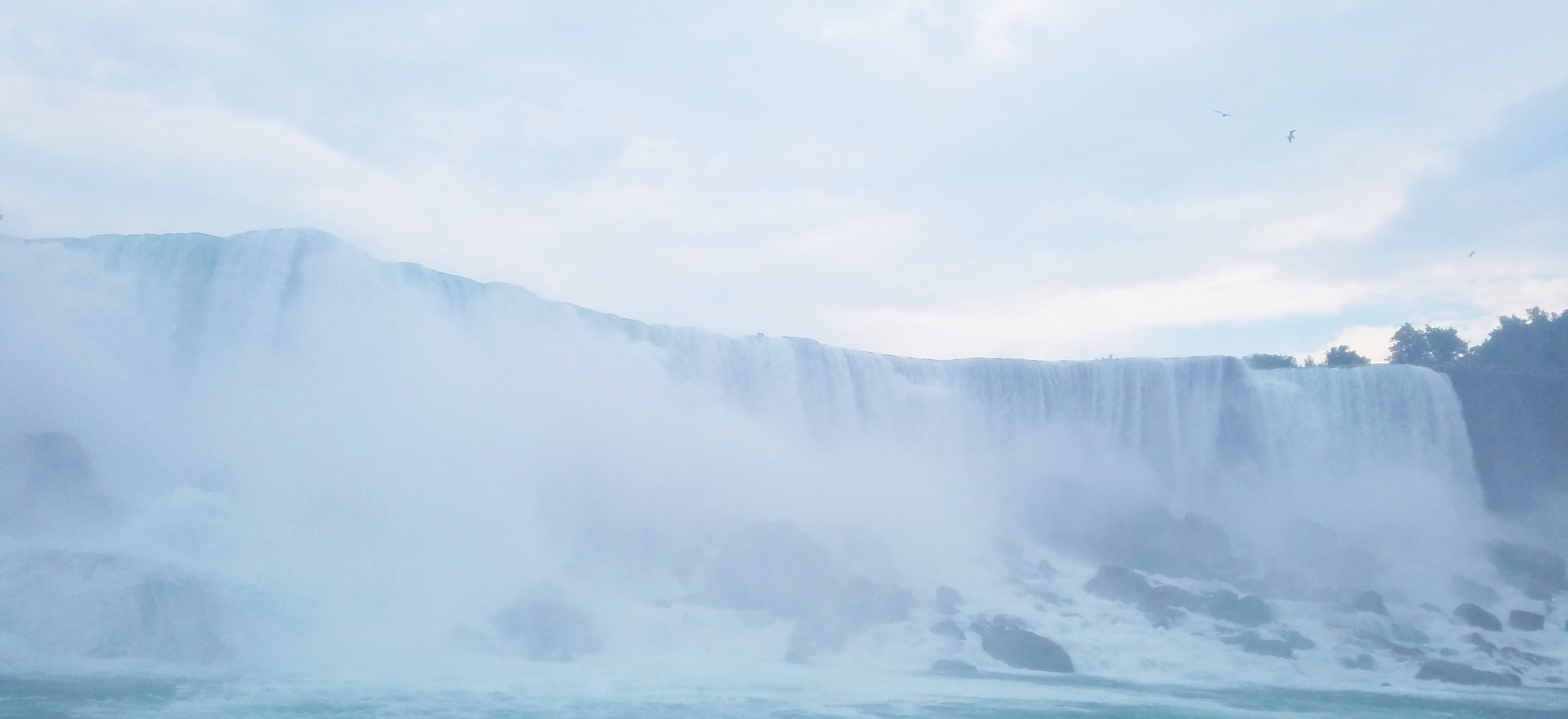 Views of the Falls from the Maid of the Mist