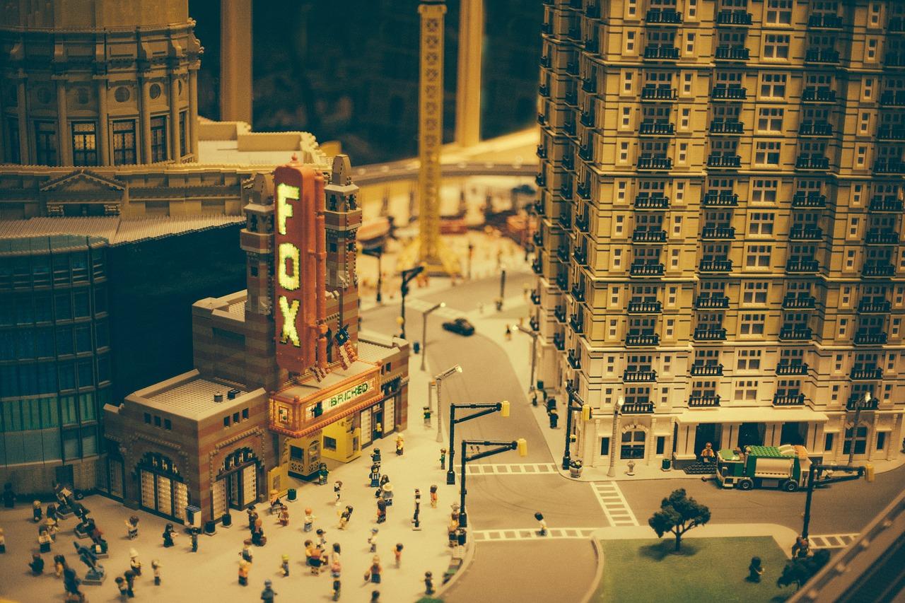 Fox Atlanta Legos Public Domain