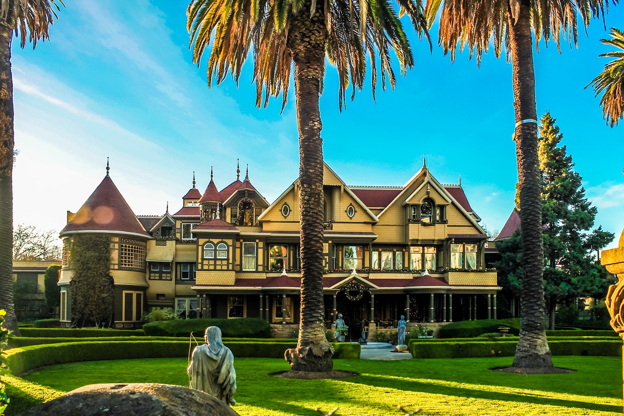 Winchester Mystery House Pixabay Public Domain