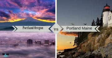 Portland Maine vs Portland Oregon