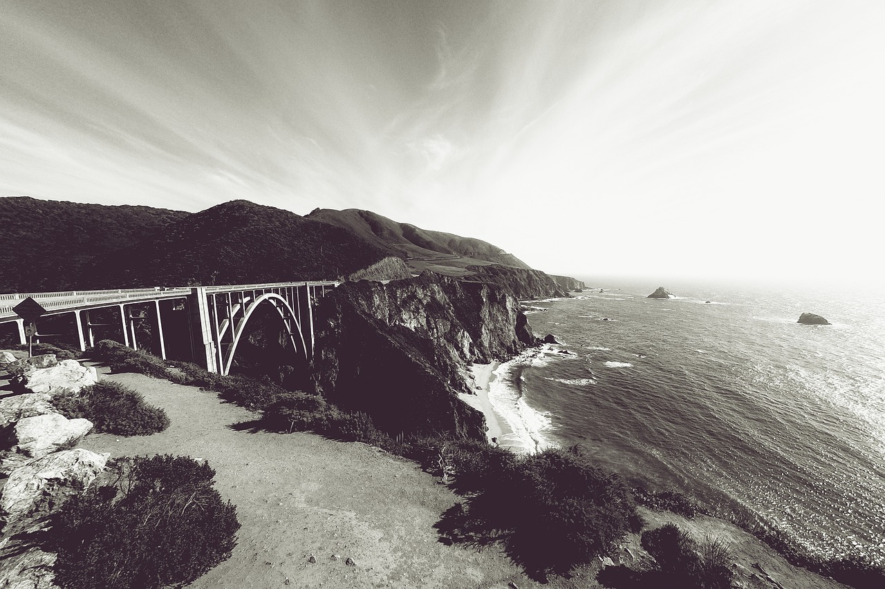 Bixby Creek Bridge - Pixabay - Public Domain