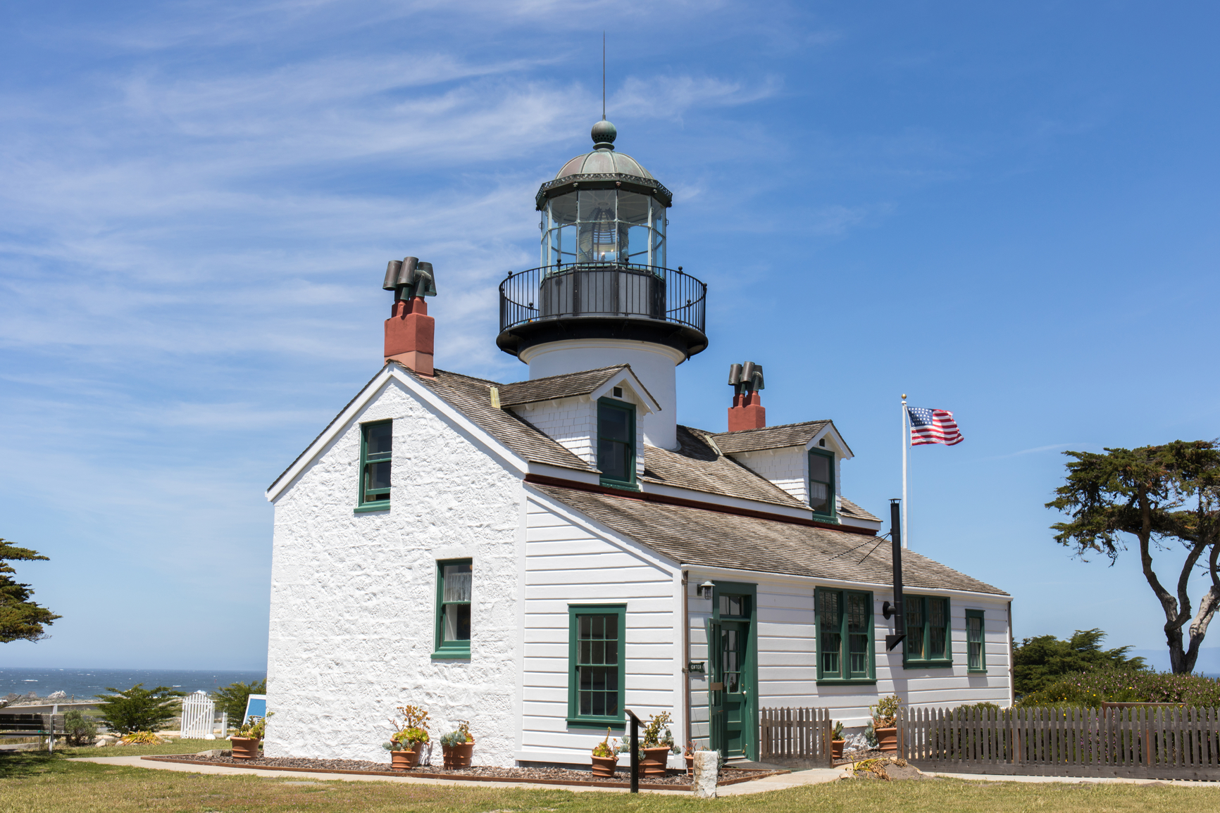 Point Pinos Lighthouse - Pixabay - Public Domain