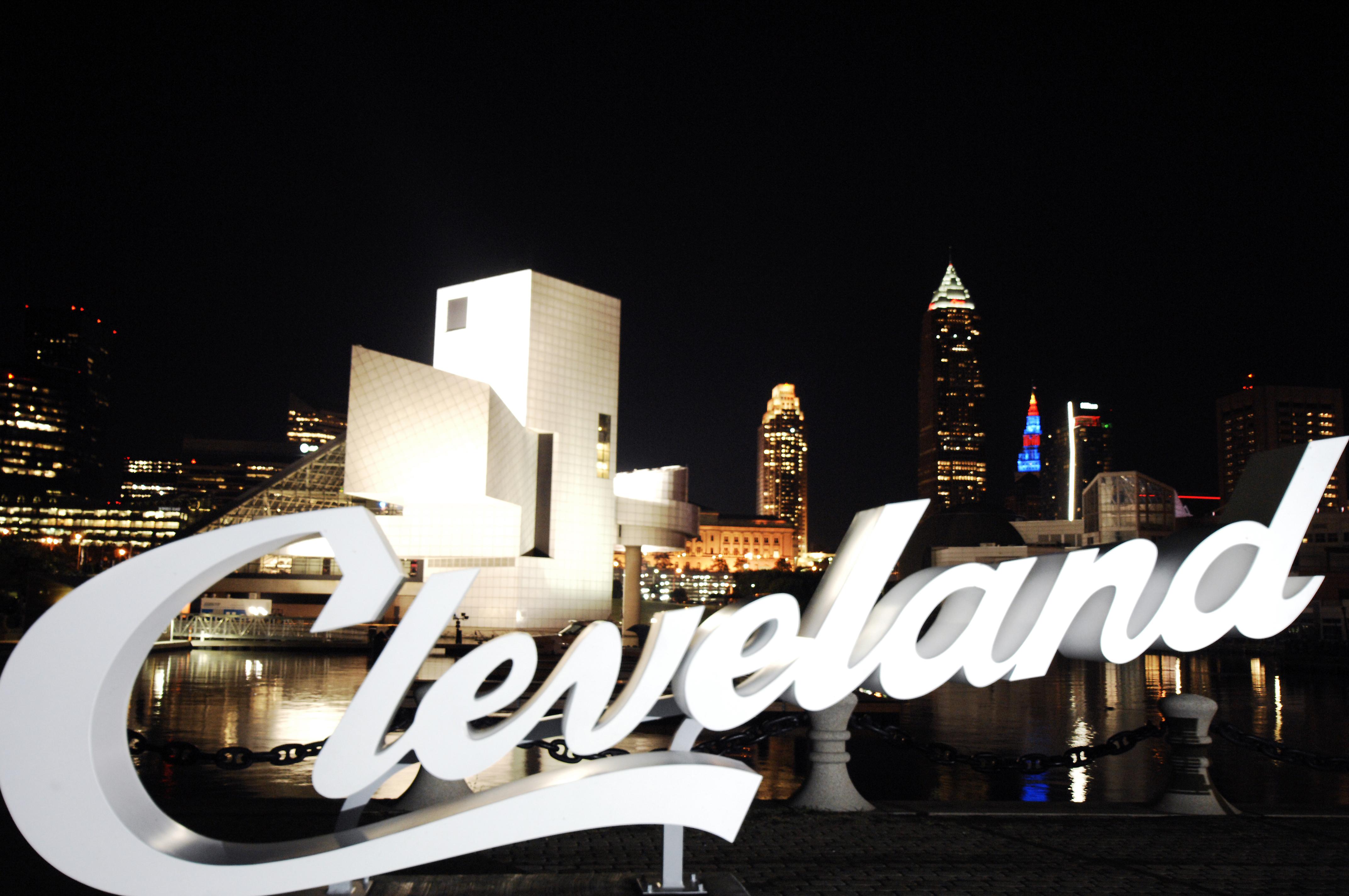 Cleveland at Night larry-e.-highbaugh Jr Courtesy of ThisisCleveland.com