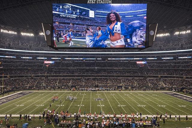 Dallas Cowboys Stadium Pixabay Public Domain