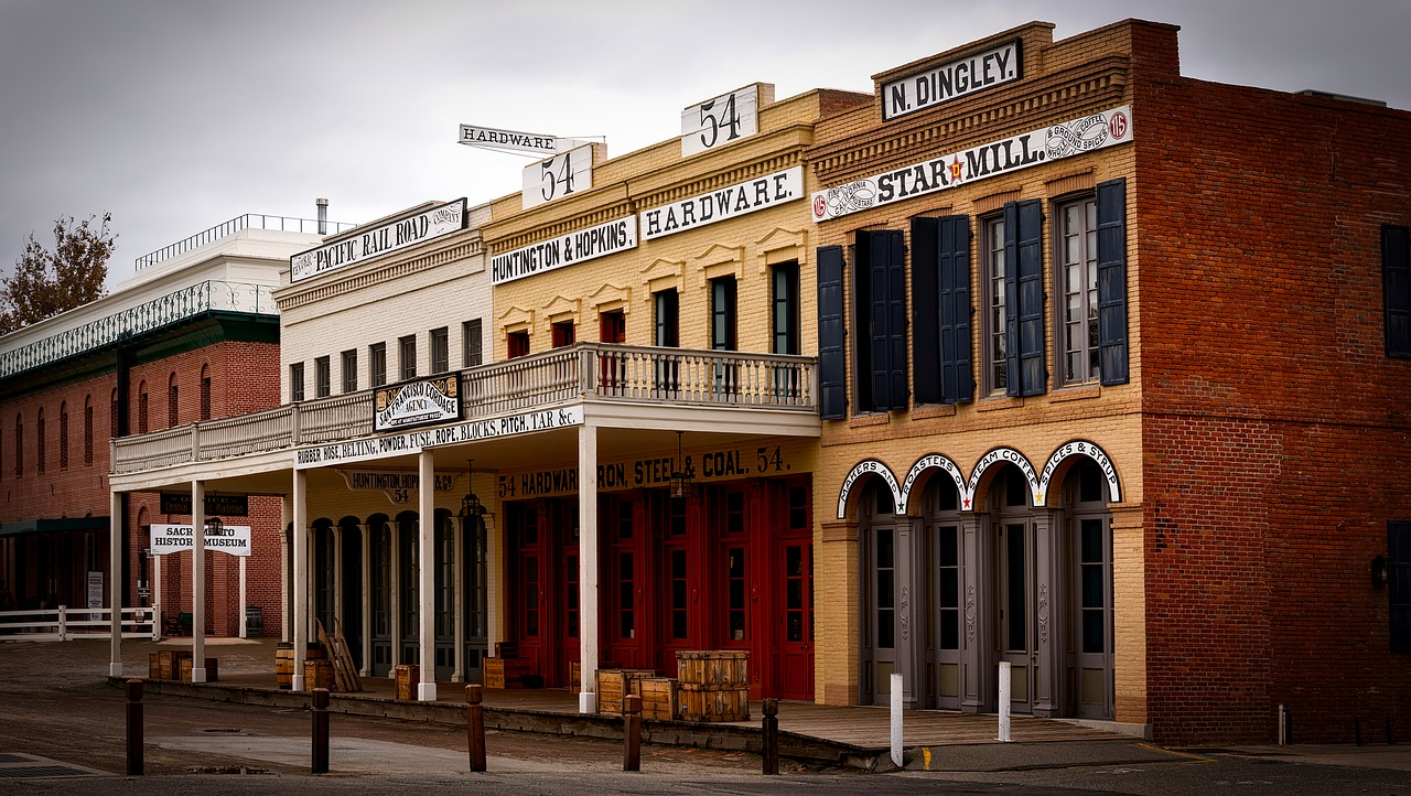 Old Town Sacramento Courtesy California State Parks 2017