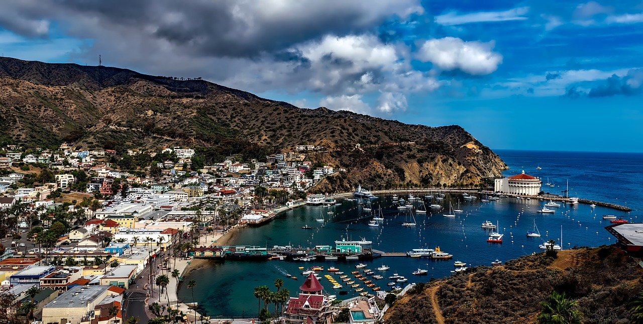 Catalina Island LA Couty Pixabay Public Domain