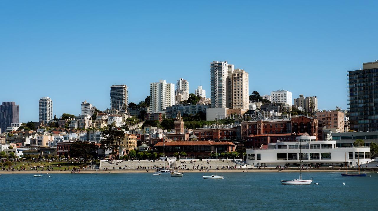 San Francisco Bay Pixabay Public Domain