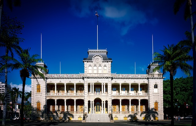 'Iolani Palace Pixabay Public Domain