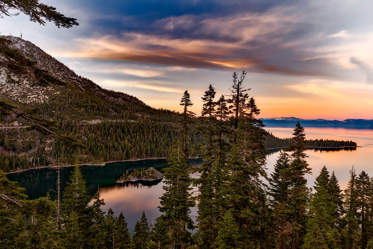 Lake Tahoe Pixabay Public Domain
