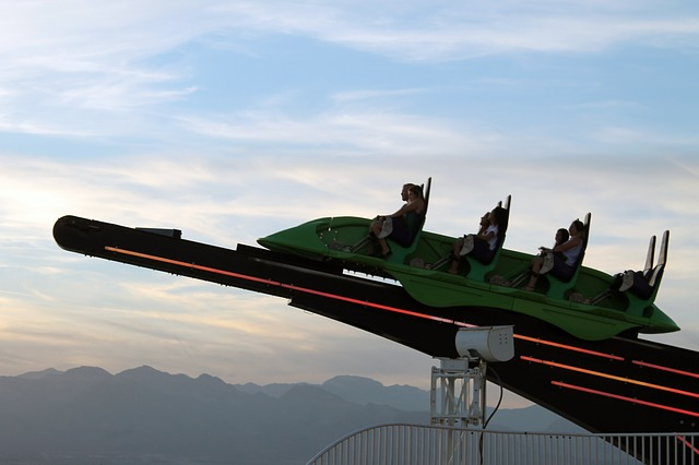 Altitude Coaster Vegas Pixabay Public Domain