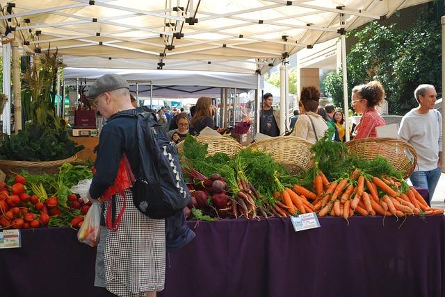 Portland Farmers Market Pixabay Public Domain