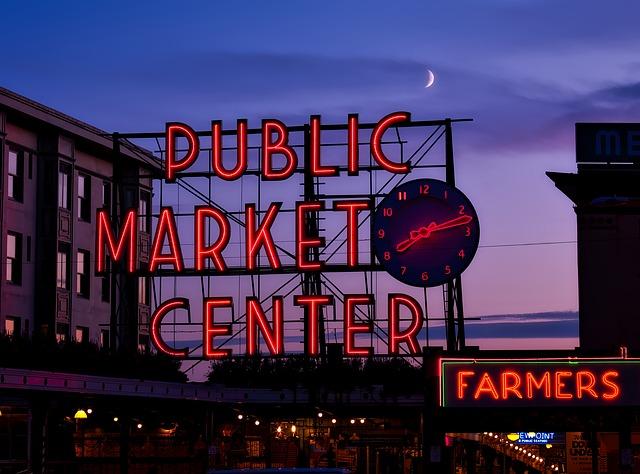 Public Market Center Seattle Pixabay Public Domain